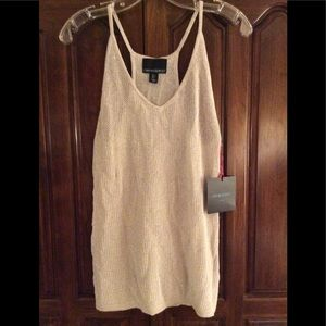 CYNTHIA ROWLEY Light Sweater Tank NWT